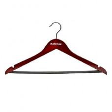 Вешалка Attribute AHR156 наб.6шт для костюма прямых с перекладиной цвет: красное дерево