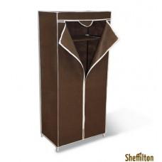 Вешалка Elikor гардероб с чехлом Sheffilton 2012 темно-коричневый
