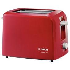 Тостер Bosch TAT-3A014 красный