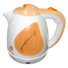 Чайник Василиса Т1-1500 белый с персиковым