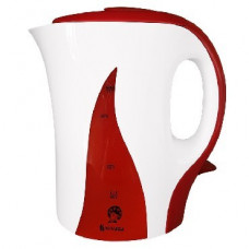 Чайник Василиса Т14-1100 белый с красным