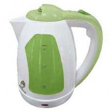 Чайник Василиса Т2-1500 белый с зеленым