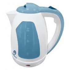 Чайник Василиса Т2-1500 белый с серо-голубым