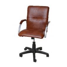 Компьютерный стул Союзрегионпоставка СРП 034 кр.дерево/брил/экотекс 3068