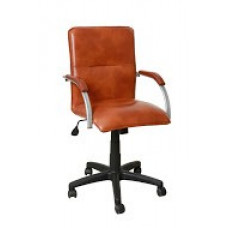 Компьютерный стул Союзрегионпоставка СРП 034 орех/брил/экотекс 3066