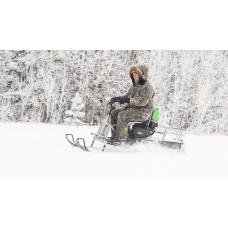 Мотобуксировщик Irbis МУХТАР 7 с лыжным модулем
