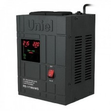 Стабилизатор напряжения Uniel (7379) RS-1/1000WS настенный, с гальванической развязкой, 1000ВА