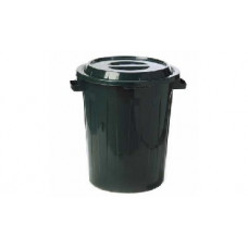 Бак М-Пластика М2393 60л с крышкой