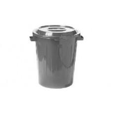 Бак М-Пластика М2394 90л с крышкой