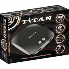 Sega Magistr Titan 3 черный 500 встроенных игр