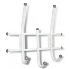 Вешалка Sheffilton Стандарт 2/3 белый/серый
