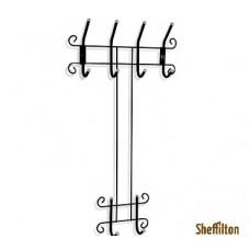 Вешалка Sheffilton Грация 780 черный/серый