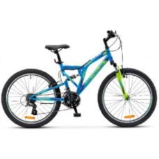 Велосипед Stels Mustang V 24-16 Синий