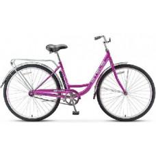 Велосипед Stels Navigator-345 28-20 Фиолетовый+корзина