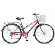 Велосипед Stels Navigator-350 LADY 28-20 Фиолетовый+корзина