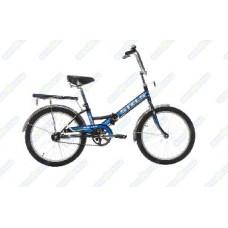 Велосипед Stels Pilot-310 20-13 чёрный/синий