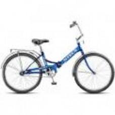 Велосипед Stels Pilot 710 24-16 белый/синий