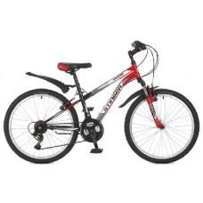 Велосипед Stinger 24SHV.CAIMAN.12RD7 CAIMAN 24-12,5 красный