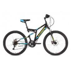 Велосипед Stinger 26SFD.HILANDISC.18BK8 Highlander D 26