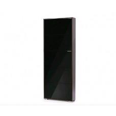Обувница Vental VIVA 5 LB венге/черный глянец