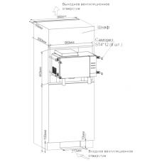 Встраиваемая микроволновая печь Tesler MEB-2380Х